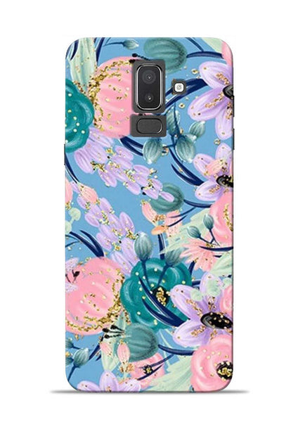 Lovely Flower Samsung Galaxy J8 Mobile Back Cover