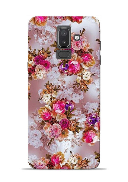Rose For Love Samsung Galaxy J8 Mobile Back Cover