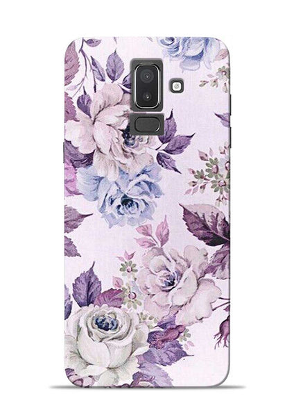 Flowers Forever Samsung Galaxy J8 Mobile Back Cover