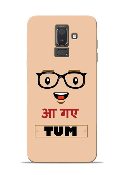 Agaye Tum Samsung Galaxy J8 Mobile Back Cover