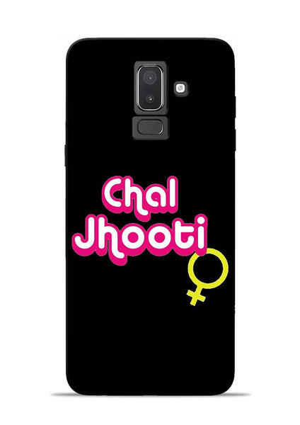 Chal Jhooti Samsung Galaxy J8 Mobile Back Cover