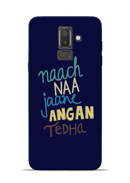 Angan Tedha Samsung Galaxy J8 Mobile Back Cover