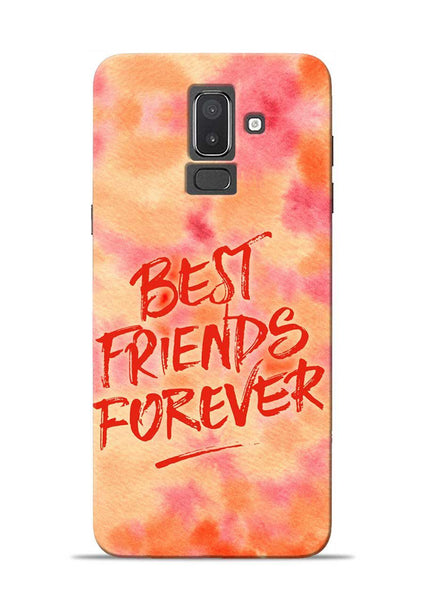 Best Friends Forever Samsung Galaxy J8 Mobile Back Cover
