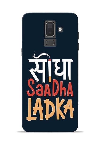 Saadha Ladka Samsung Galaxy J8 Mobile Back Cover