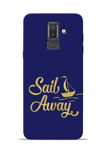Sail Always Samsung Galaxy J8 Mobile Back Cover