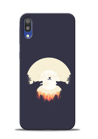 Wolf Bear Samsung Galaxy M10 Mobile Back Cover