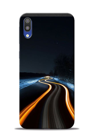 Great Night Drive Samsung Galaxy M10 Mobile Back Cover