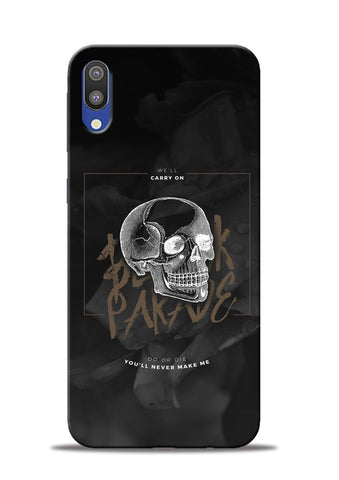 Biker Skull Samsung Galaxy M10 Mobile Back Cover