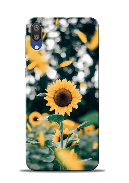 Sun Flower Samsung Galaxy M10 Mobile Back Cover