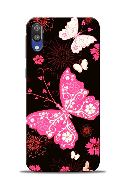 The Butterfly Samsung Galaxy M10 Mobile Back Cover