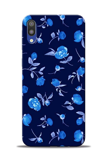 The Blue Flower Samsung Galaxy M10 Mobile Back Cover