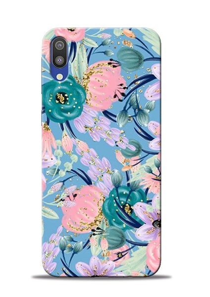 Lovely Flower Samsung Galaxy M10 Mobile Back Cover