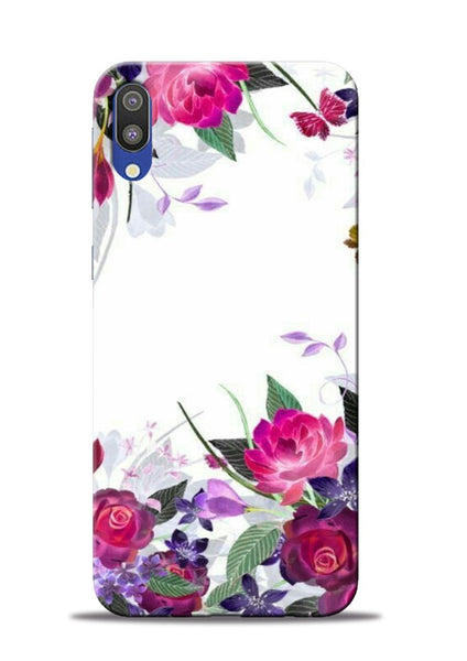 The Great White Flower Samsung Galaxy M10 Mobile Back Cover