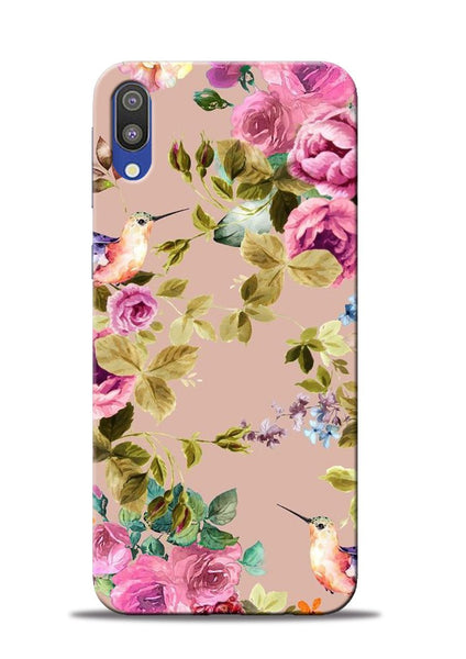 Red Rose Samsung Galaxy M10 Mobile Back Cover
