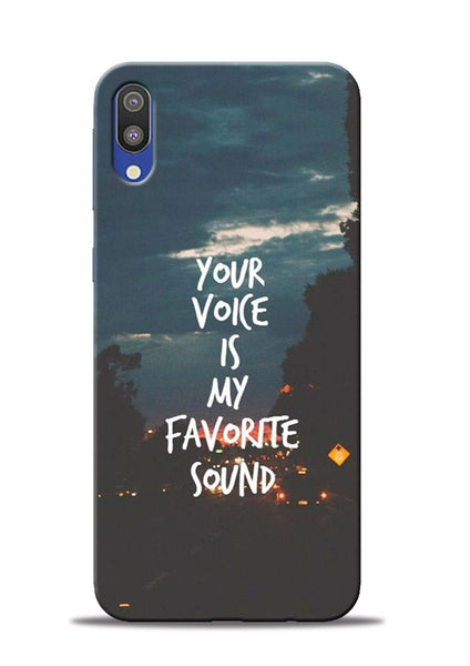 Your Voice Samsung Galaxy M10 Mobile Back Cover