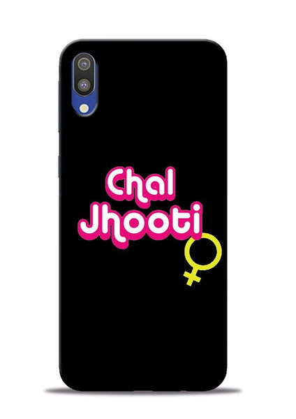 Chal Jhooti Samsung Galaxy M10 Mobile Back Cover