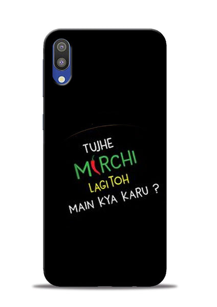 Mirchi Lagi To Samsung Galaxy M10 Mobile Back Cover
