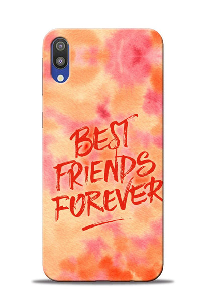 Best Friends Forever Samsung Galaxy M10 Mobile Back Cover