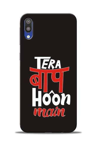 Tera Baap Hoon Samsung Galaxy M10 Mobile Back Cover