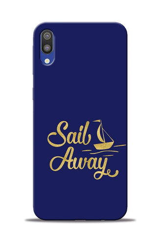 Sail Always Samsung Galaxy M10 Mobile Back Cover