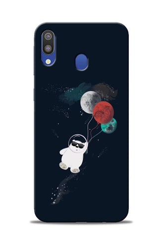 Panda Astronaut Samsung Galaxy M20 Mobile Back Cover
