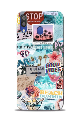 To Beach Samsung Galaxy M20 Mobile Back Cover