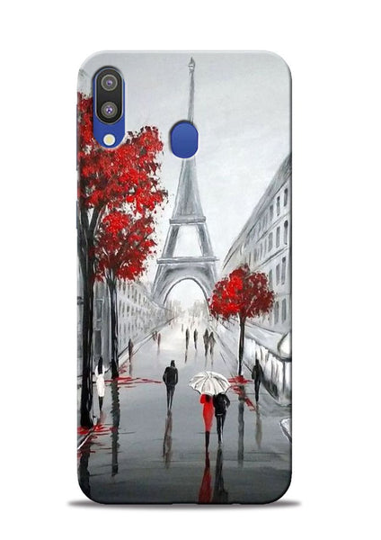 Eiffel Tower Samsung Galaxy M20 Mobile Back Cover