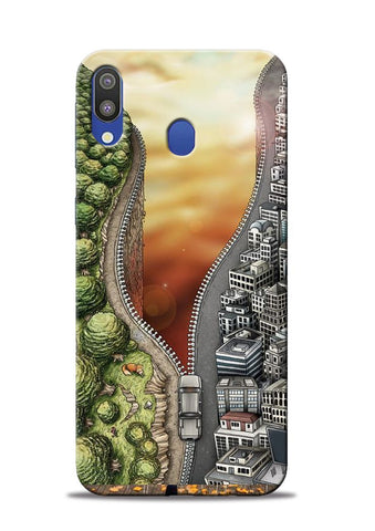 Forest City Samsung Galaxy M20 Mobile Back Cover