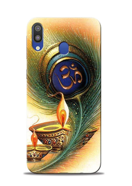 The Glowing Diya Samsung Galaxy M20 Mobile Back Cover