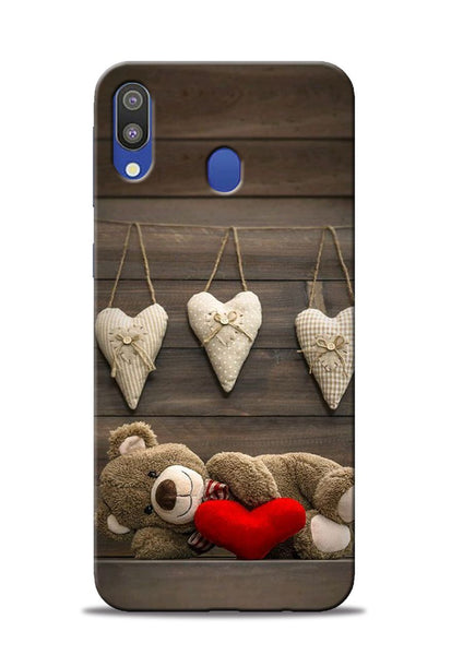 Teddy Love Samsung Galaxy M20 Mobile Back Cover