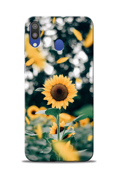 Sun Flower Samsung Galaxy M20 Mobile Back Cover