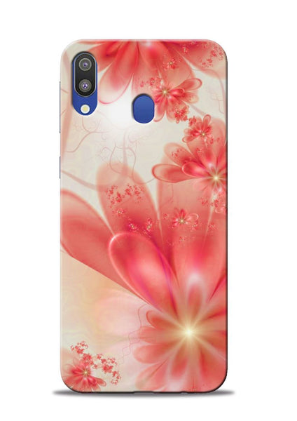 Glowing Flower Samsung Galaxy M20 Mobile Back Cover