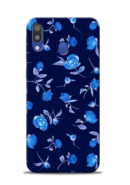 The Blue Flower Samsung Galaxy M20 Mobile Back Cover