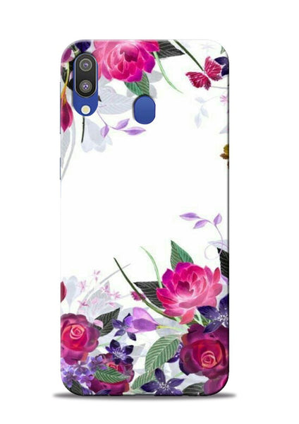 The Great White Flower Samsung Galaxy M20 Mobile Back Cover