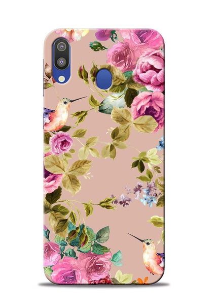 Red Rose Samsung Galaxy M20 Mobile Back Cover