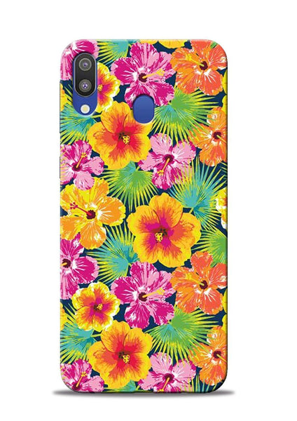Garden Of Flowers Samsung Galaxy M20 Mobile Back Cover