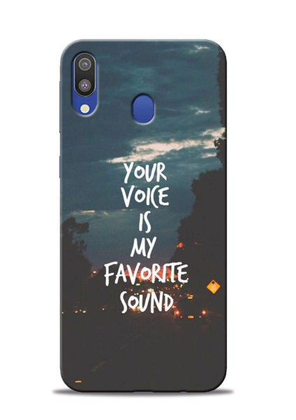 Your Voice Samsung Galaxy M20 Mobile Back Cover