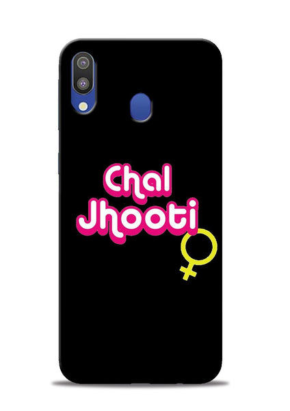 Chal Jhooti Samsung Galaxy M20 Mobile Back Cover