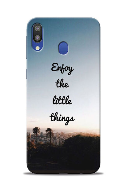 Enjoy The Little Things Samsung Galaxy M20 Mobile Back Cover
