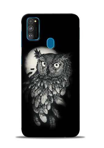 Moon Owl Samsung Galaxy M30s Mobile Back Cover