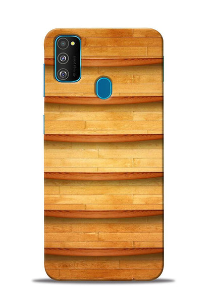 Wooden Texture Samsung Galaxy M30s Mobile Back Cover