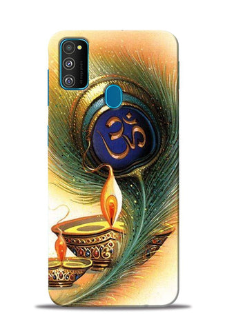 The Glowing Diya Samsung Galaxy M30s Mobile Back Cover