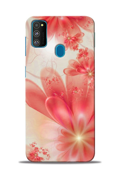 Glowing Flower Samsung Galaxy M30s Mobile Back Cover