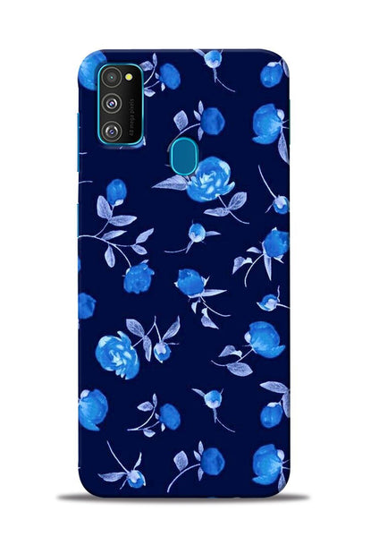 The Blue Flower Samsung Galaxy M30s Mobile Back Cover