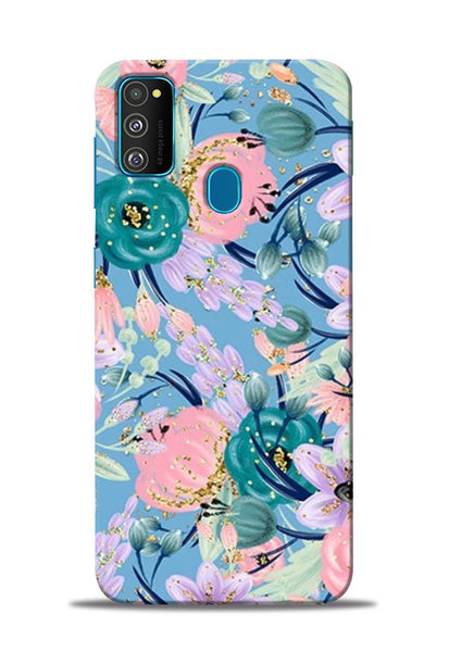Lovely Flower Samsung Galaxy M30s Mobile Back Cover