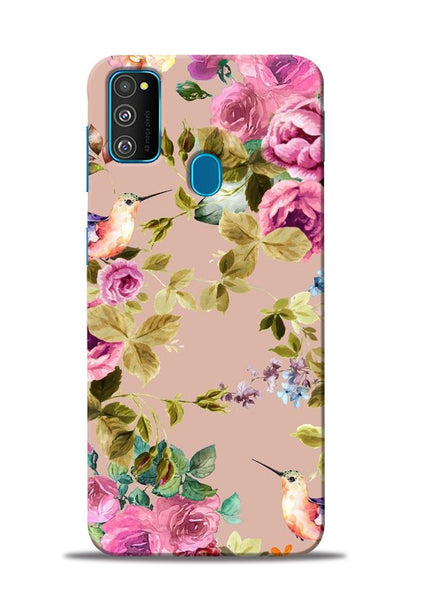 Red Rose Samsung Galaxy M30s Mobile Back Cover