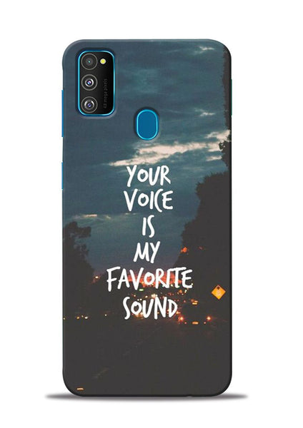 Your Voice Samsung Galaxy M30s Mobile Back Cover