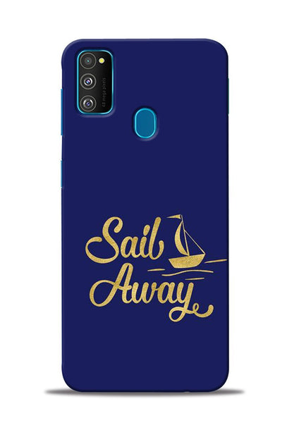 Sail Always Samsung Galaxy M30s Mobile Back Cover