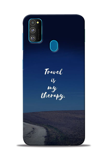 Travel Is My Therapy Samsung Galaxy M30s Mobile Back Cover