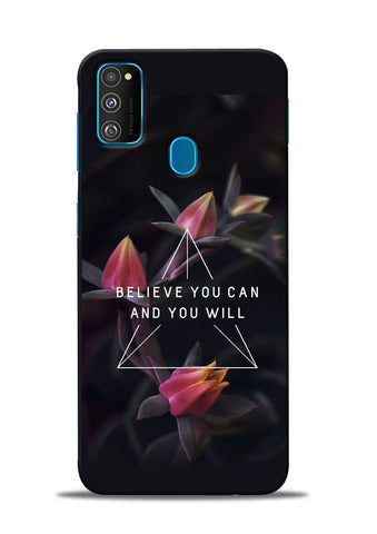 Believe You Will Samsung Galaxy M31 Mobile Back Cover
